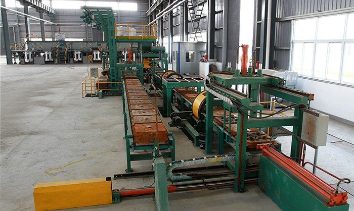Horizontal production line