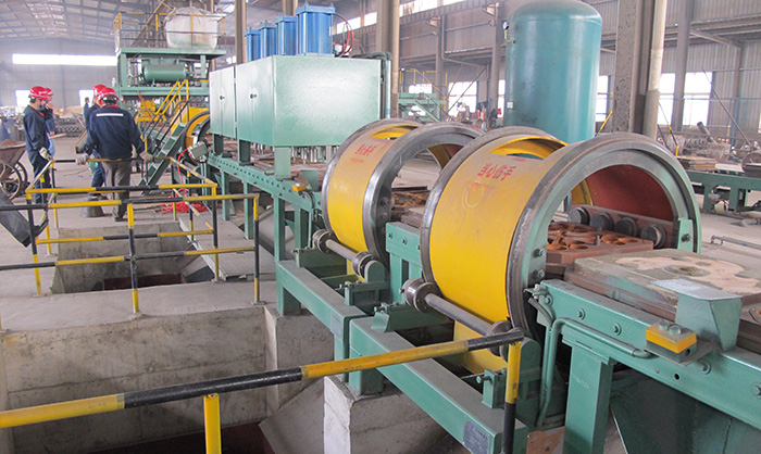 Iron mould sand casting ball production line
