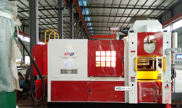 Fully automatic moulding machine