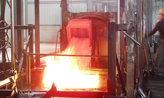 Overturning Full-fiber Bogie-hearth Resistance Furnace