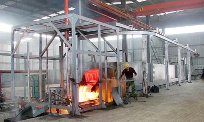 RT3-180-10 Energy-saving Full-fiber Bogie-hearth Resistance Furnace