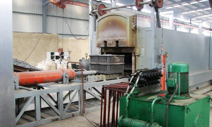 Pusher Heat Treatment Production Line