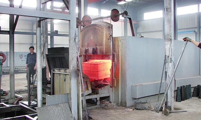 Pusher Heat Treatment Production Line