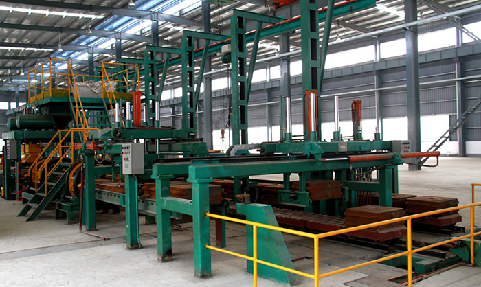 XN-ZZ416 (Vertical Parting) Flaskless Moulding Production Line