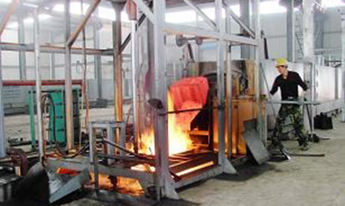 Energy-saving Full-fiber Bogie-hearth Resistance Furnace