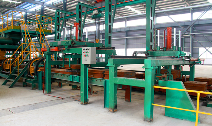 Horizontal Parting Flaskless Molding Casting Machine for Car Auto Parts