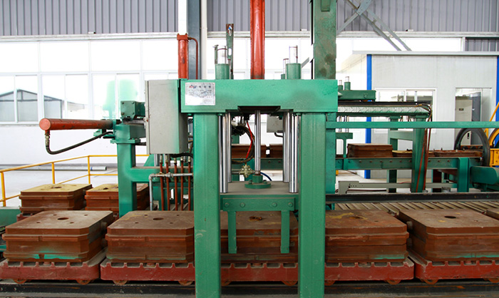 Fully Automatic Horizontal Box-Less Molding Machine