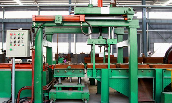 Fully Automatic Horizontal Box-Less Molding Machine