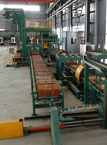 Grinding Ball Casting Line