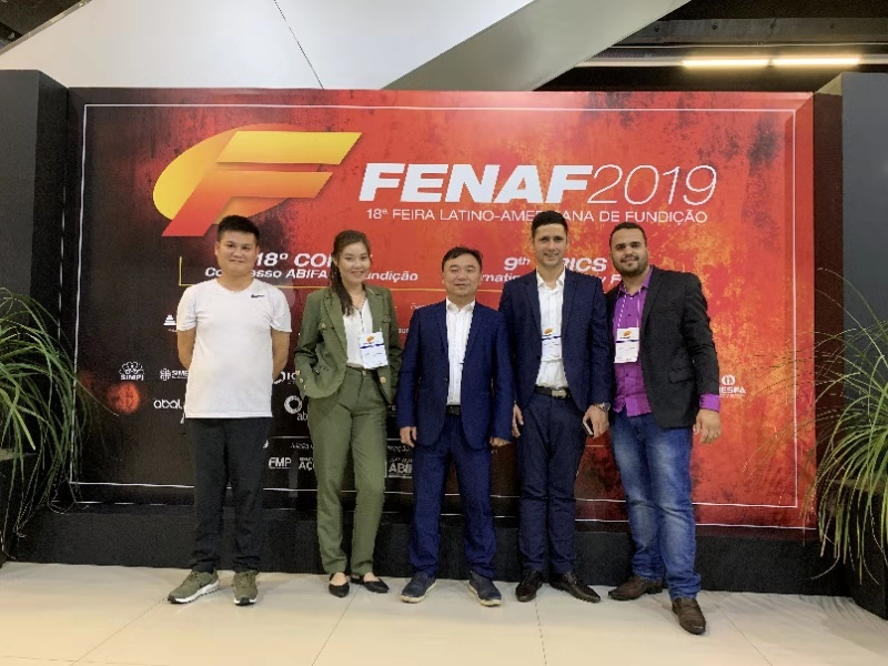 Latin American Foundry Exhibition FENAF2019