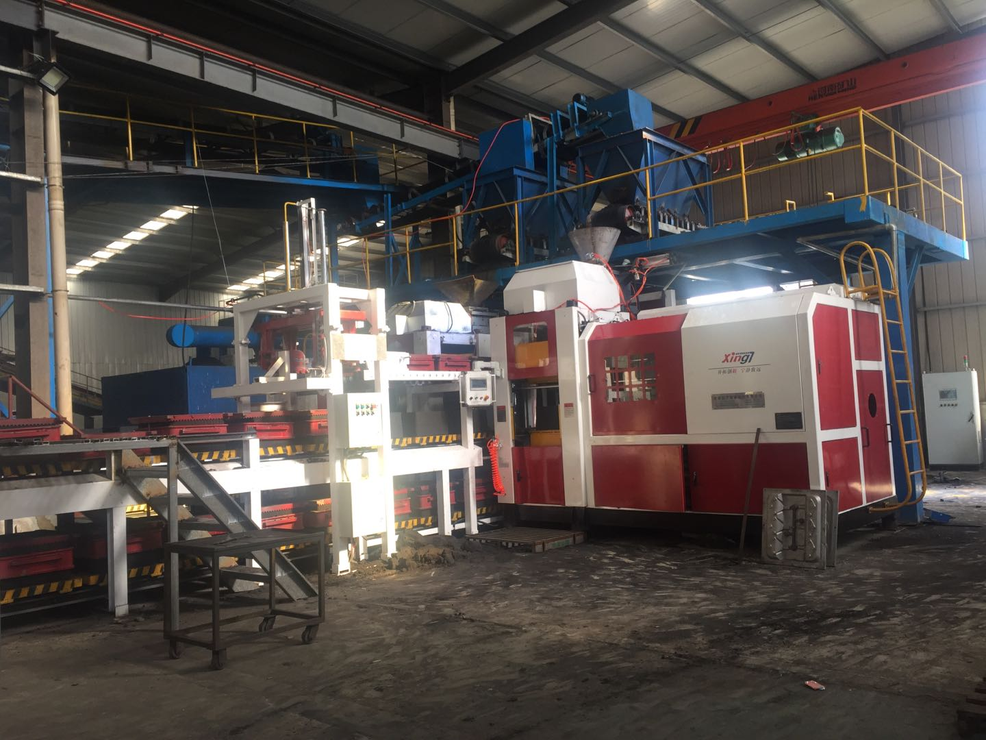Fully Automatic steel casting foundry Molding Machine