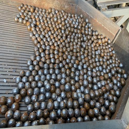 Ball casting line