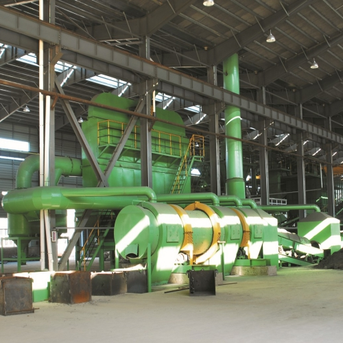 Furan sand Iron mould horizontal production line