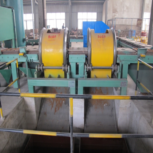 Iron mould chrome mill ball casting production line