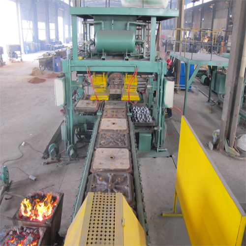 High Chrome mill ball casting production line