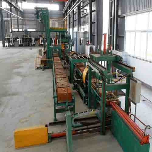 Integration of Riser with Cast ball production line