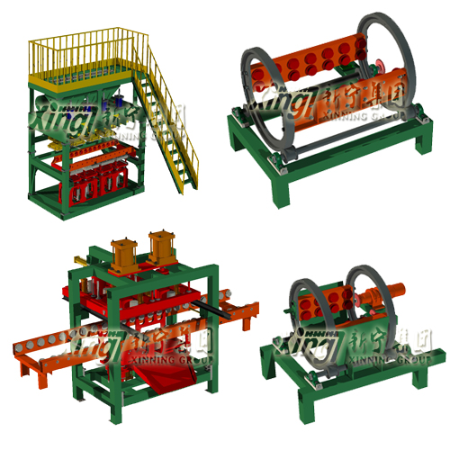 Clay/green sand moulding machine, automatic sand molding machine flask less iron casting machine